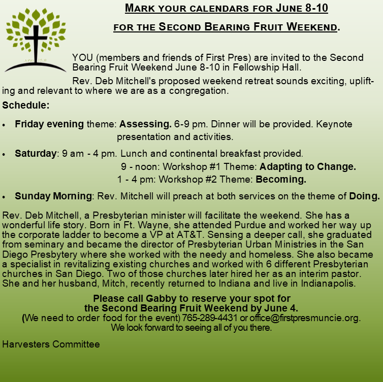 June Harvesters Blurb
